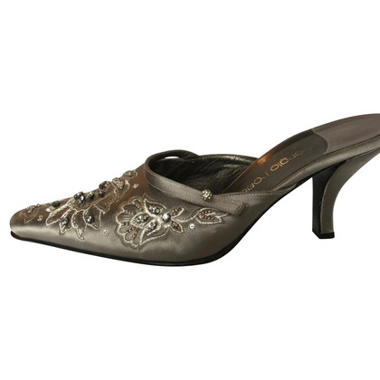 Sergio Rossi Mules with embroidery