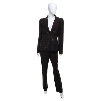 Mugler Suit in brown