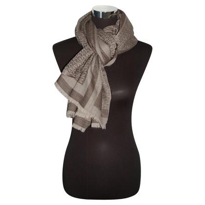 Max Mara Monogram scarf