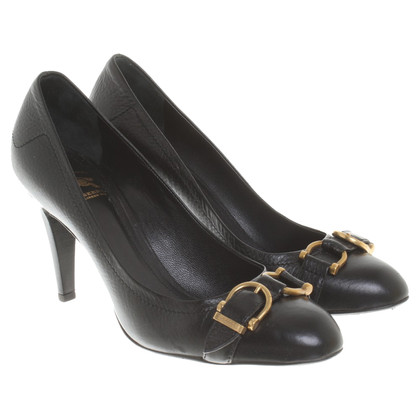 Burberry Pumps aus Leder