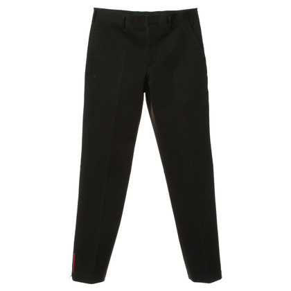 Prada Pantaloni tuta in nero