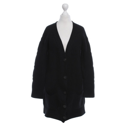 Iris von Arnim cardigan a maglia in nero