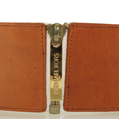 Michael Kors Cintura in pelle a Brown