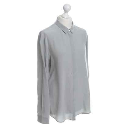 Filippa K Silk blouse in silver grey