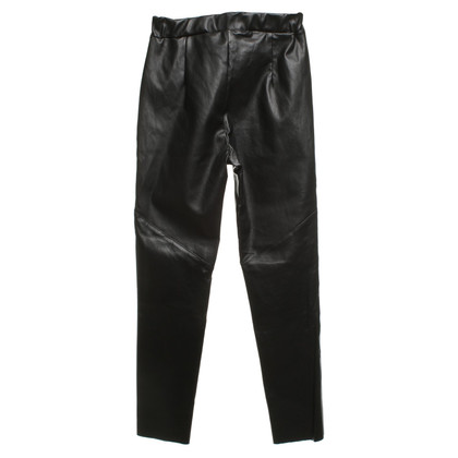 Andere merken Utmon giet - lederen broek in zwart