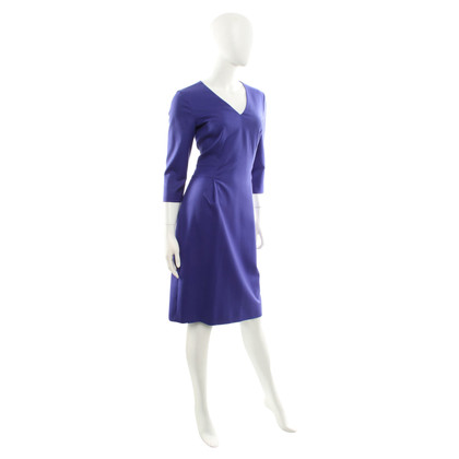 Hugo Boss Wool dress in purple