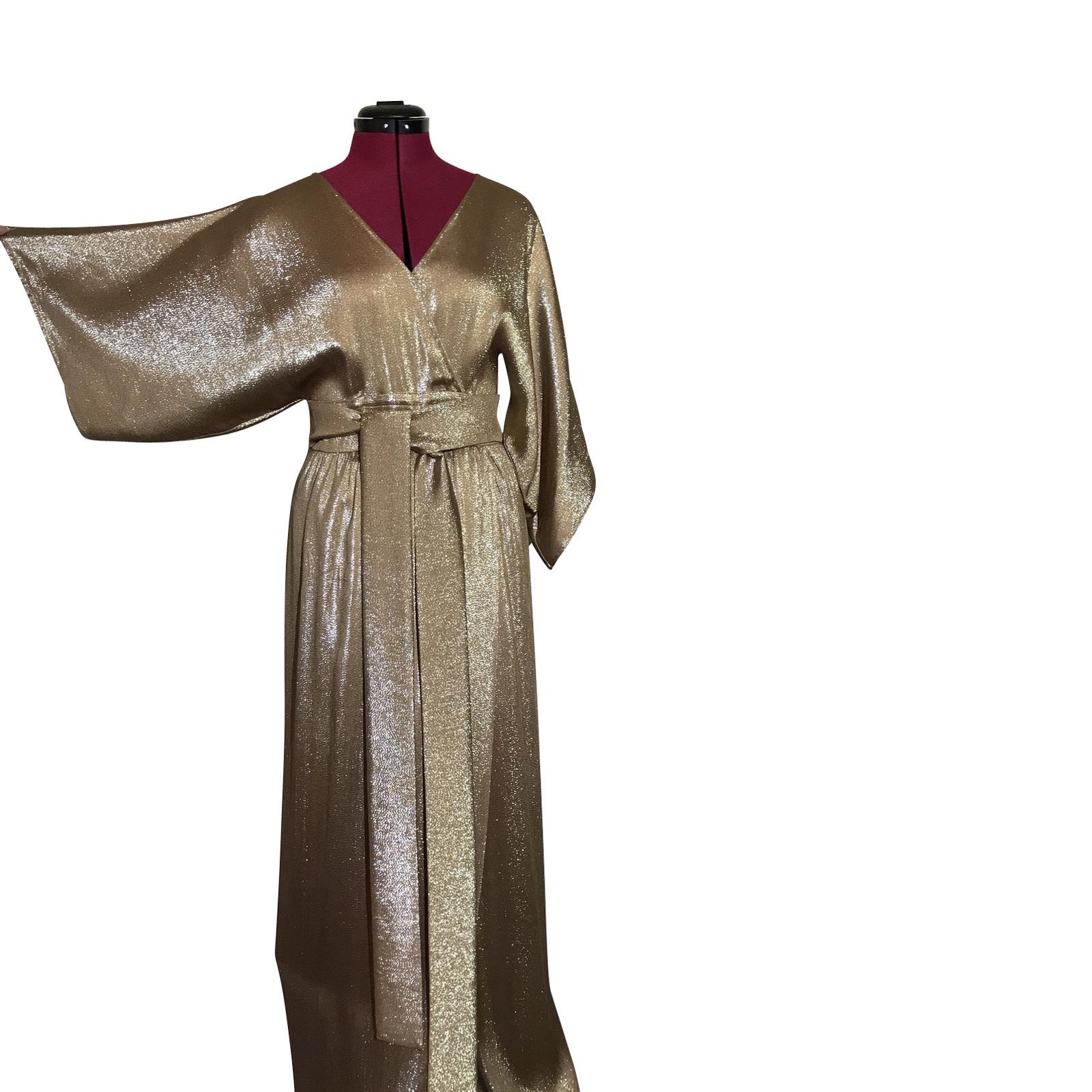 Abiti Da Sera Gucci.Gucci Abito Da Sera Stile Kimono Second Hand Gucci Abito Da Sera