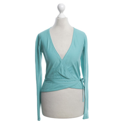 Strenesse Blue Wickel sweater in turquoise