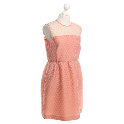 Red Valentino Salmon Colored Dress