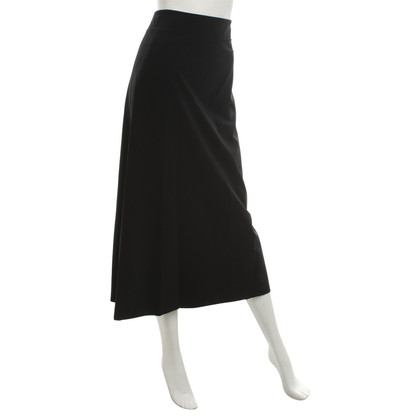 Issey Miyake Maxi rok in zwart