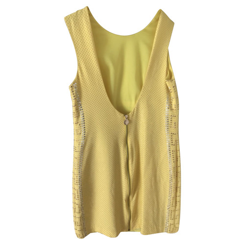 e6d07e216e0a1 Versace for H M Vestito in Seta in Giallo - Second hand Versace for ...