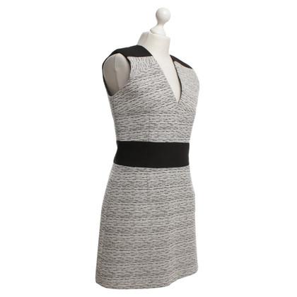 Carven Kleid in Schwarz/Weiß