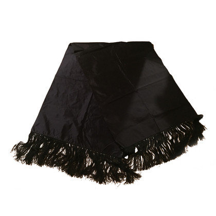 Gucci Black silk stoles