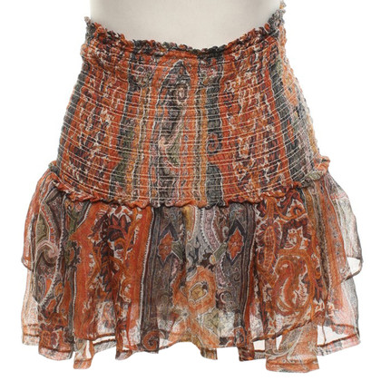Isabel Marant Gonna con motivo paisley