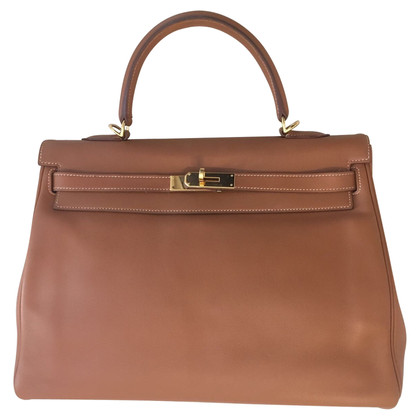 "Hermès ""Kelly Bag 32"" aus Swiftleder"