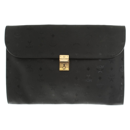 MCM Briefcase in Black