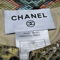 Chanel Python leather jacket