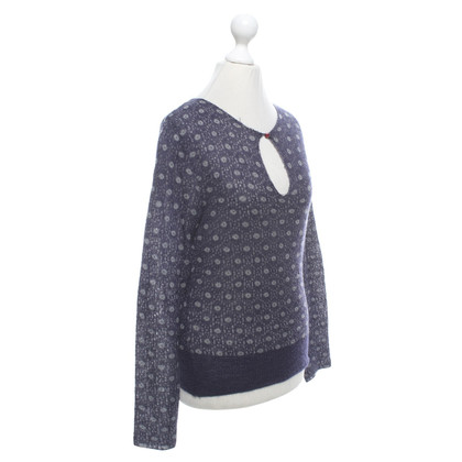 Hugo Boss Strickpullover in Dunkelblau