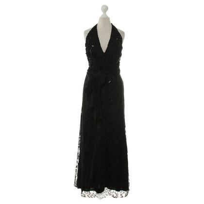 Christian Lacroix Kant jurk in zwart
