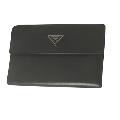 Prada portfolio midnight blue