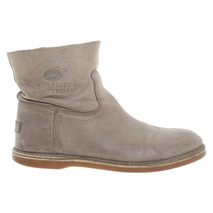 Shabbies Amsterdam Ankle boots in grey