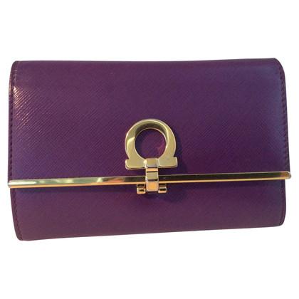 Salvatore Ferragamo Wallet Violet