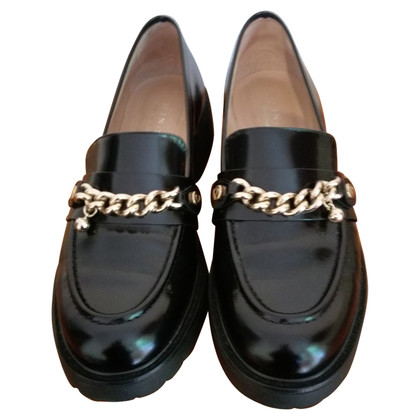 Twin-Set Simona Barbieri Mocassins en cuir noir
