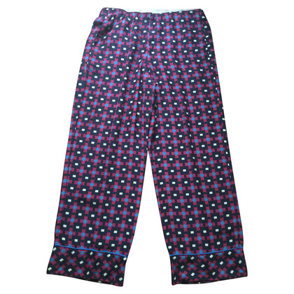 Maliparmi Cropped pants in silk 100%