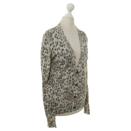 Chloé Fine knit Cardigan with animal design