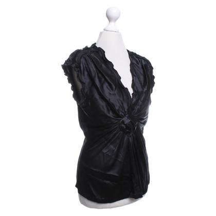 Roberto Cavalli Blouse in black