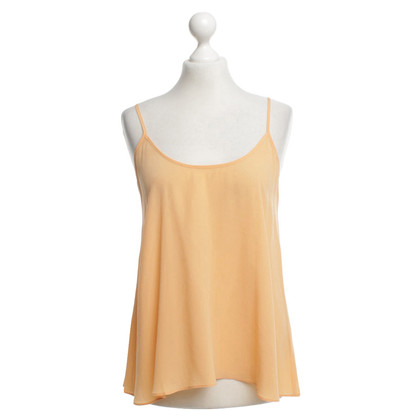 American Vintage Silk top in orange
