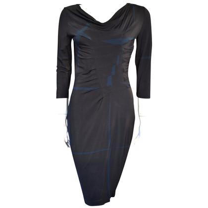 Escada Jersey-jurk in zwart