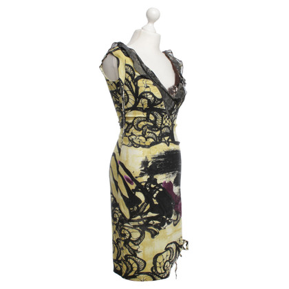Christian Lacroix Dress in yellow/black
