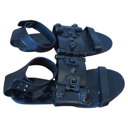 Lanvin Black Lanvin sandals T.37