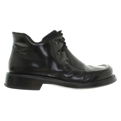 Pollini Leather lace-up shoes