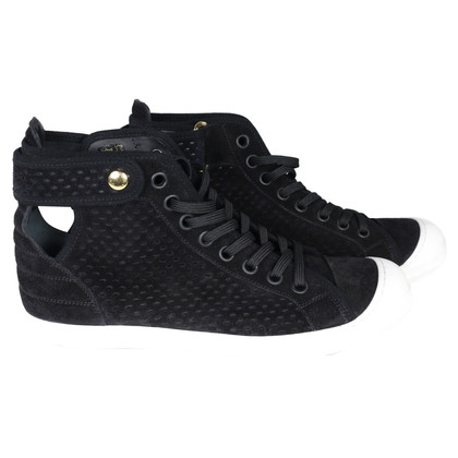 Louis Vuitton Sneakers in pelle scamosciata nera