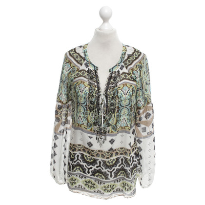 Hale Bob Tunic with sequin trim