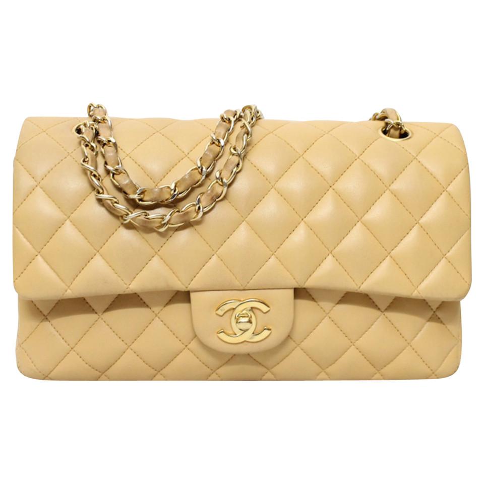 chanel borsa beige compra chanel borsa beige di seconda mano a 996537. Black Bedroom Furniture Sets. Home Design Ideas