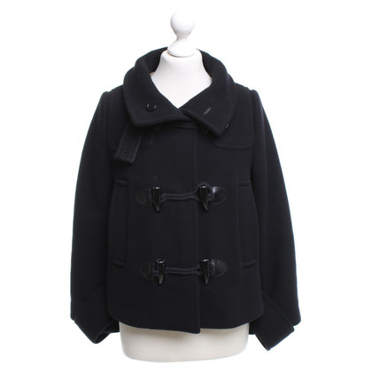 Burberry Cape Jacket in Black