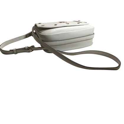 MCM White Leather shoulder bag