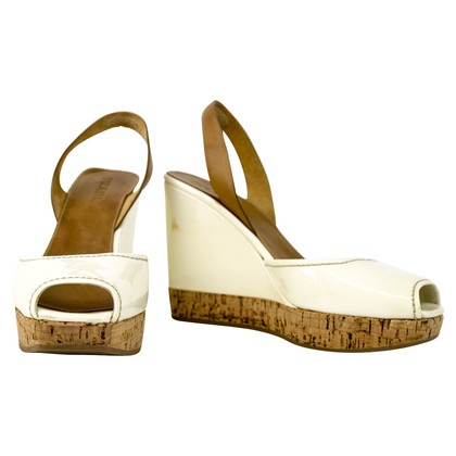 Prada Lackleder-Wedges