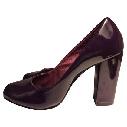 Max & Co in pelle verniciata pumps
