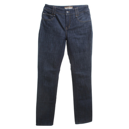 John Galliano Jeans in blu scuro