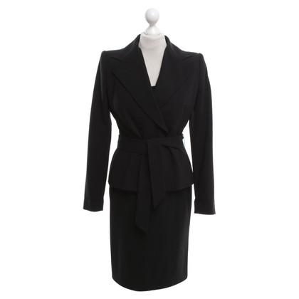 Dolce & Gabbana Jurk met een blazer in zwart