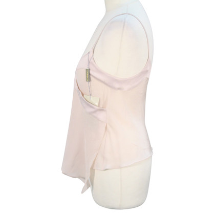 Armani Silk top in light pink