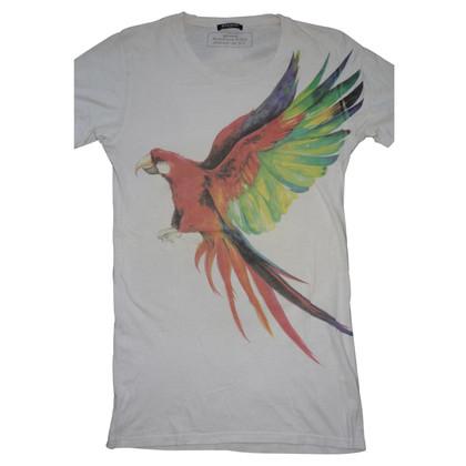 Balmain Shirt Parrot Print