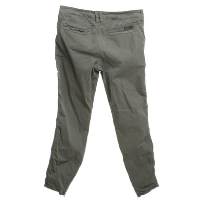 Drykorn Cotton pants in olive green
