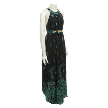 Tibi Patterned silk dress