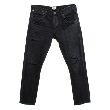 Citizens of Humanity Jeans Destroyed in Black