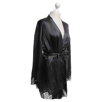 Calvin Klein Zijden kimono in Bicolor